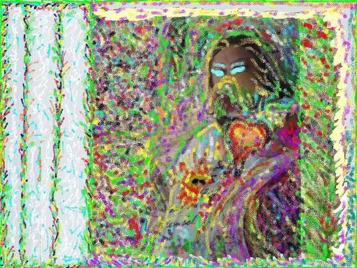 IL CUORE DI LEI - paint 2010