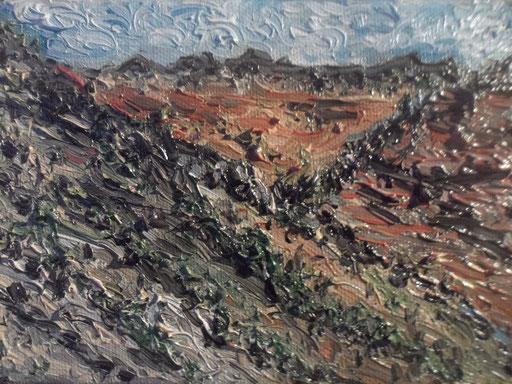 SERRA SECCA - 2011olio su tela 13 x 18