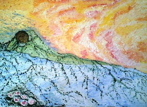 GERMOGLI - 2008 olio su tela 35 x 45