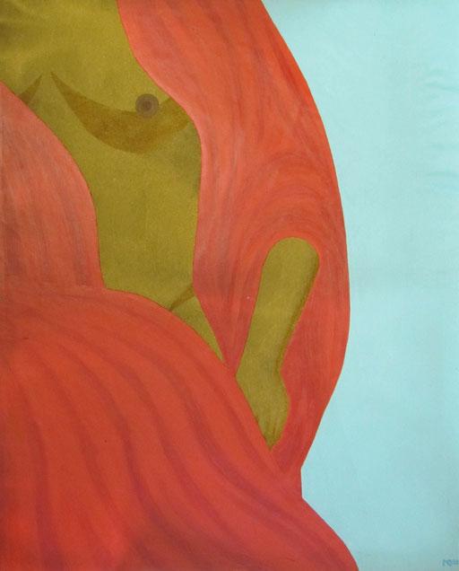 9079 75 cm x 90 cm Acryl, Sandstein auf Leinwand