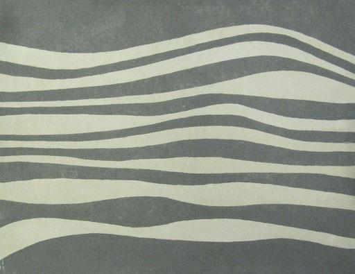 9077 95 cm x 74 cm Sandstein auf Leinwand