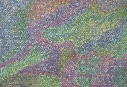 9060  27 cm x 19 cm Ölkreide auf Papier