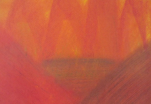 9058  27 cm x 19 cm Ölkreide auf Papier