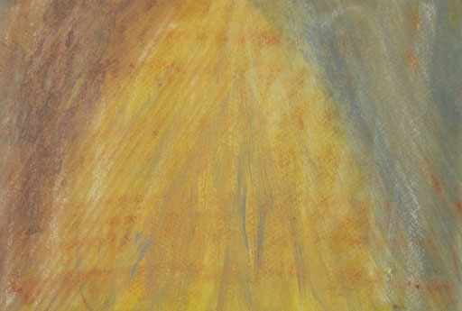 9051  27 cm x 19 cm Ölkreide auf Papier