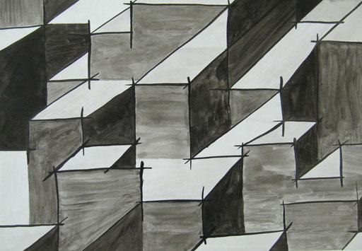 9026  27 cm x 19 cm Tusche auf Papier