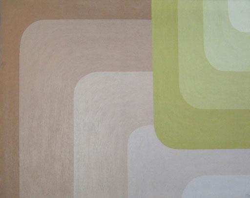 9072  95 cm x 75 cm Acryl, Sand auf Leinwand