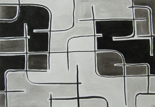 9021  27 cm x 19 cm Tusche auf Papier