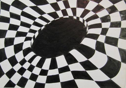 8203  42 cm x 29 cm Tusche auf Paoier