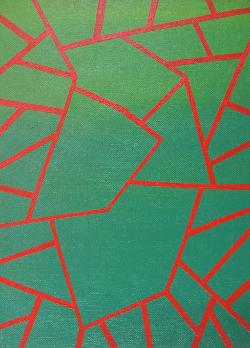 8903 24 cm x 33 cm Acryl auf Leinwand