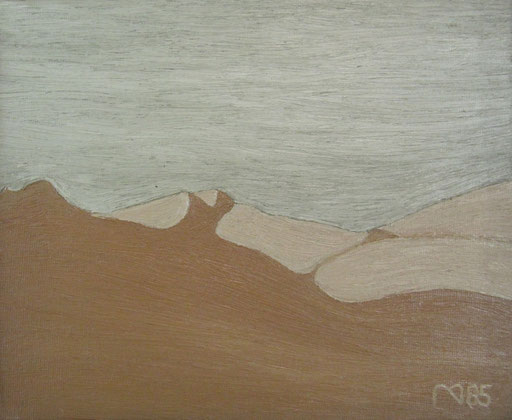 8503 30 cm x 24 cm Öl auf Leinwand