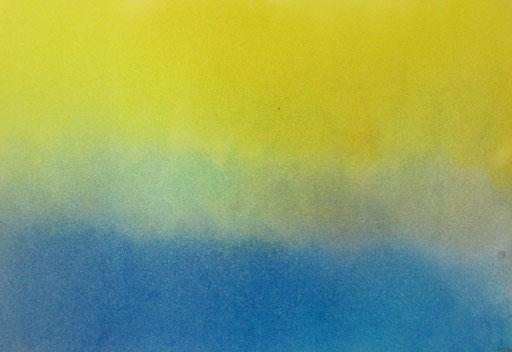 9042  27 cm x 19 cm Ölkreide auf Papier