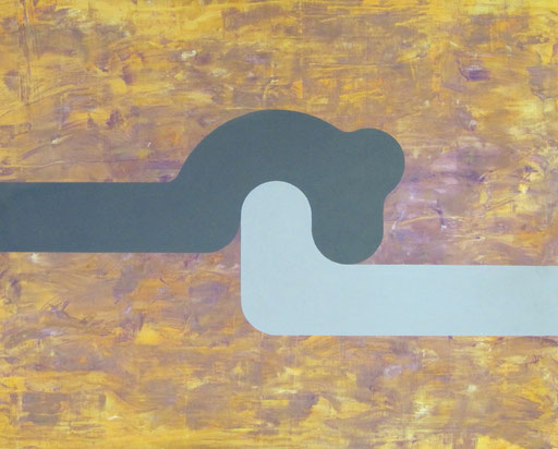 9073  95 cm x 75 cm Acryl auf Leinwand