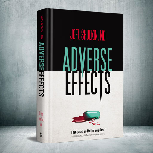 Medical thriller novel Adverse Effects