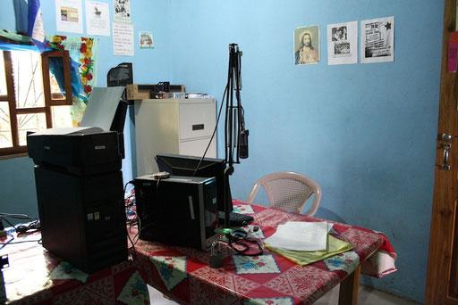 Radio La Voz Lenca, © Nina Kreuzinger, 2012.