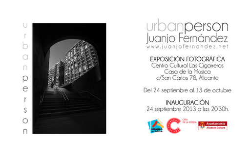 Exposición Urban Person (Alicante).Juanjo Fernández