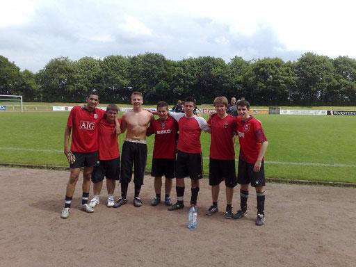 Fußballturnier Berufskolleg Max Born  ( 2. Platz )