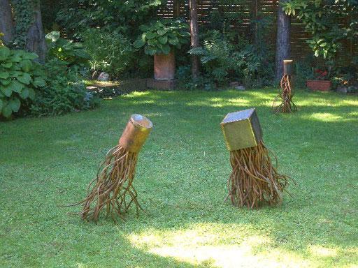 Drei Graskraken
