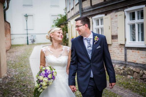 Hochzeitsfeier im Hotel Deutscher Kaiser Perleberg mit Hochzeitsfotografen