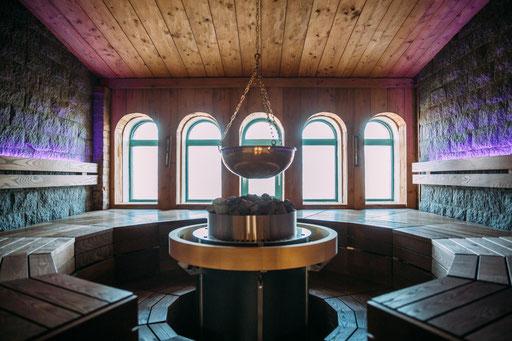 Welnessbereich und Sauna der Alten Ölmühle Wittenberge