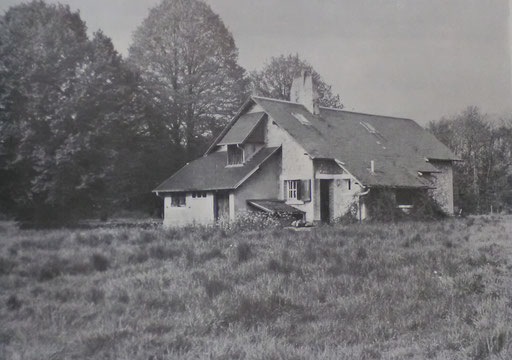 Cabane de Louis Fabulet, Photographie anonyme, source : André Renaudin, Louis Fabulet traducteur de Kipling, 1980