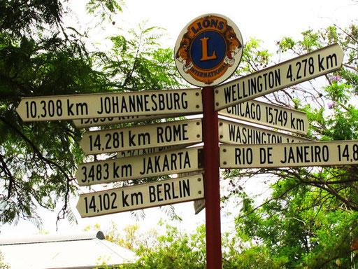 soweit ist die Welt von Alice Springs entfernt