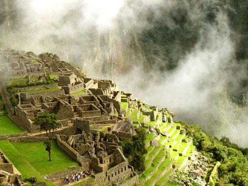 Macho Picchu im Morgen-Licht...