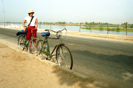 kurze Pause am Nil