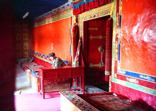 Eingang zu den Gemächern des Dalai Lama