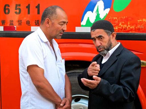 Machmud aus Jalalabad erzählte mit viele Geschichten aus Usbekistan und Kirgisien