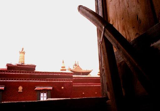 der Potala-Palast UNESCO-Weltkulturerbe seit 1994