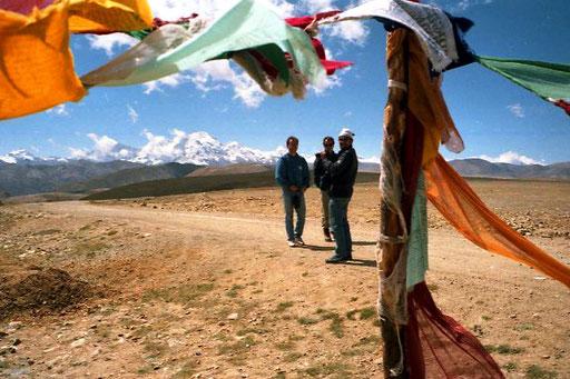 die erste Passhöhe über 4.000 m war erreicht