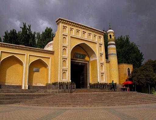 Heytgah-Moschee, die grösste in China