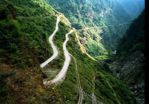 der Weg zurück nach Nepal