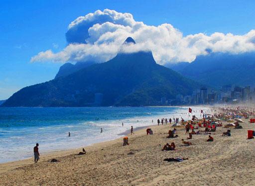 der Lieblingsstrand der gehobenen Brasilianer - Ipanema