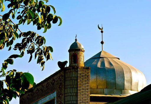 die grosse Moschee von Osh