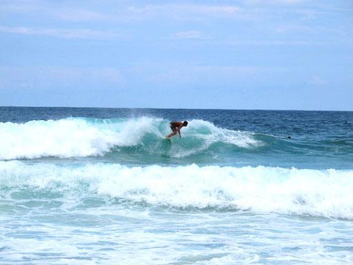 perfekt beherrschten alle hier ihre Surf-Bord´s