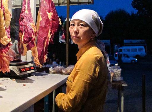 ein Gesicht und ein Licht wie bei dem holländischen Maler Jan Vermeer