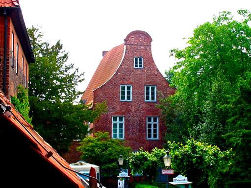 alte Barock-Fassade in Lübeck