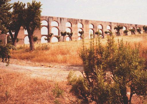 der Viadukt bei Elvas