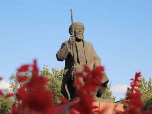 der bekannte kirgisische Volksdichter Toktogul