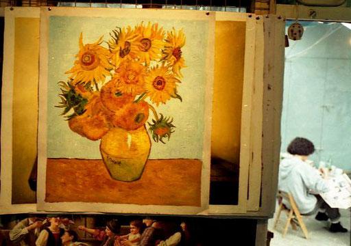 van Gogh in Öl oder in Bleistift-Zeichnung - alles war möglich