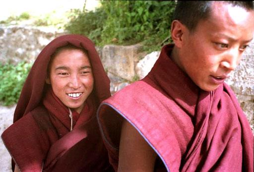 sie führten uns zu den Verhören der Mönche vom Kloster Sera