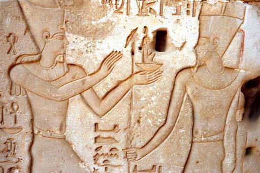 wunderschönes Hyroglyphen-Bild