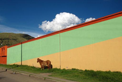 am Stadtrand von Sicuani - ein kurioser Schnappschuss