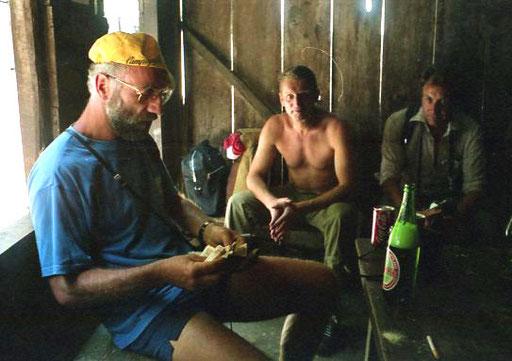Hans, Dieter und Rudi - das Wechselgeld beim Nachzählen de Wechselgeldes