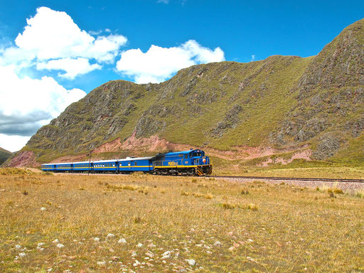 der legendäre Peru-Train: Puno - Cusco