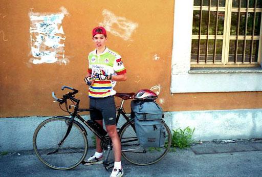 in Riva machten wir uns letzte Mittags-Pause
