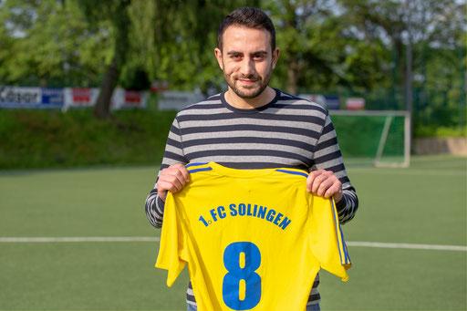 Mustafa Sisman wechselt zur neuen Saison an den Schaberg (Foto: 1. FC Solingen Media Team)