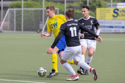 Christian Weiß zeigte heute bei der 2:5-Niederlage die beste Leistung (Foto: 1. FC Solingen Media Team)