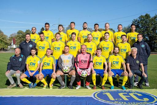 Die erste Mannschaft wird ebenfalls bei der Saisonabschluss am 1. Juni anwesend sein (Foto: 1. FC Solingen Media Team)